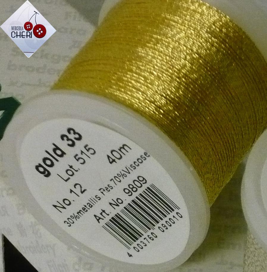 filo da ricamo Madeira gold