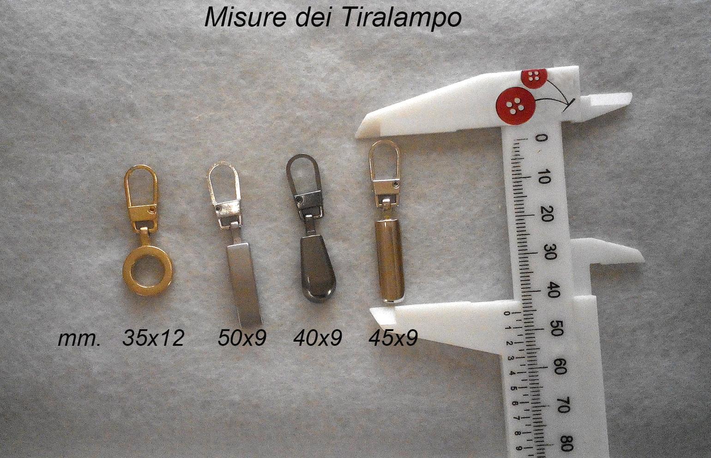 misure tiralampo