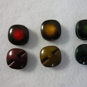 Bottone Primi Anni 60 Colori Sfumati