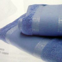 Asciugamano E Ospite 100% Cotone Da Ricamare