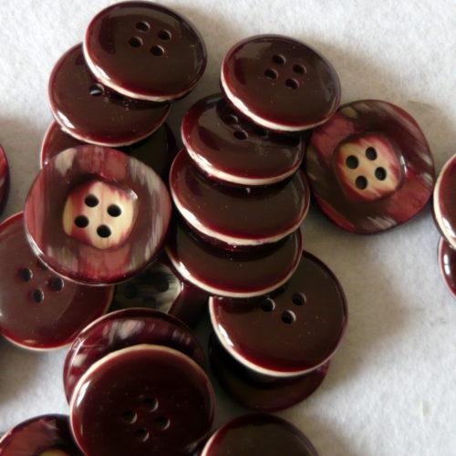 Bottone In Resina Primi Anni 70