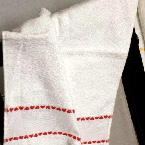 Asciugamano Ospite Da Ricamare
