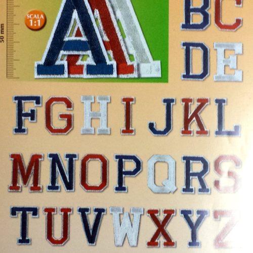 Lettere Termoadesive  Mm.50 (Marbet)