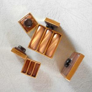 Bottoni Vintage Set Da 6 Bottoni