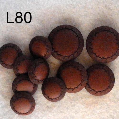 11 Bottoni Vintage Di Fine Anni 60 (art. L80)