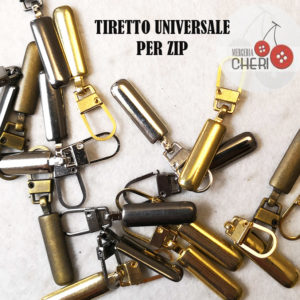 Tiretto Per Cerniera Zip
