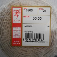 Cordoncino Lucido Liotex  Mm. 1.5 M.50