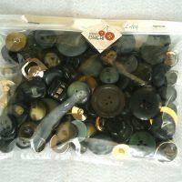 Bottoni Vintage  Tutto Il VERDE