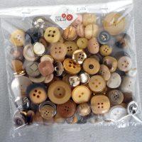 Bottoni Vintage Colori Chiari