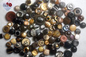 Bottoni Vintage Che Vanno Dal 1950 A Fine Anni 90