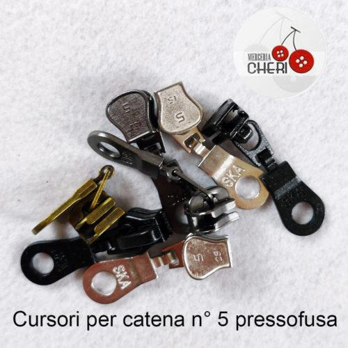 Cursore SKA  Catena 5 Pressofusa