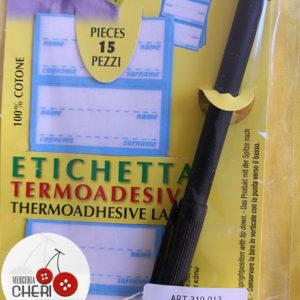 Etichetta Termoadesiva Con Penna